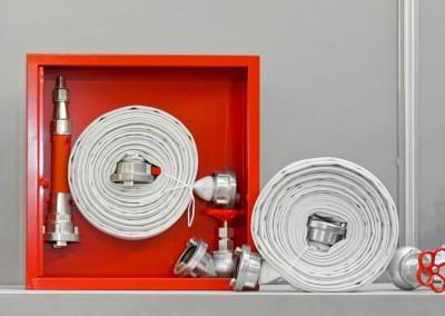 Fire hose equipment